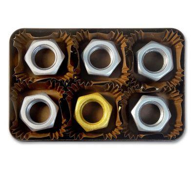 6 гаек шоколадных