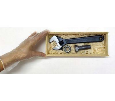 Набор малый с разводным ключом, шоколадный