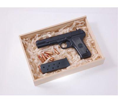 Пистолет Тульский Токарева (ТТ) шоколадный в наборе