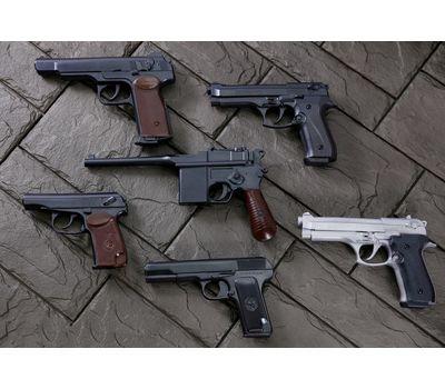Пистолет Макарова (ПМ) шоколадный в наборе