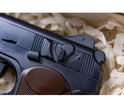 Пистолет Стечкина (АПС) шоколадный в наборе