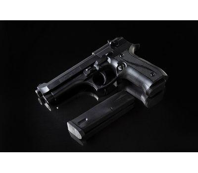 Пистолет Beretta 92 шоколадный черный в наборе